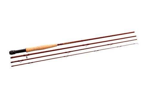 SNOWBEE Classic 5-6 4-teilige Fliegenrute, Hazel Braun, 213 cm
