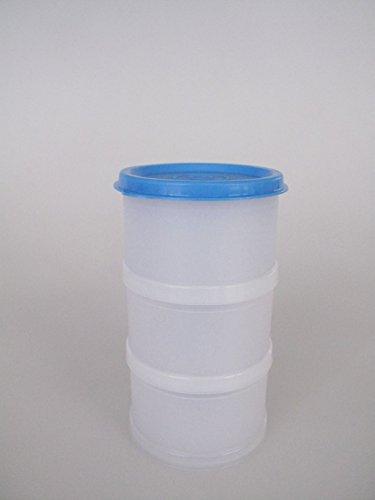 TUPPERWARE Gefrier-Behälter Stapelei Eiskunst 125 ml blau weiß D210