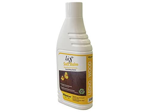 Chimiver Detergente per la Pulizia di parquet in Legno oliati. Nutre ed Aiuta ad esaltare la Naturale Bellezza del parquet LIOS Soft Balm | Flacone da 1L.
