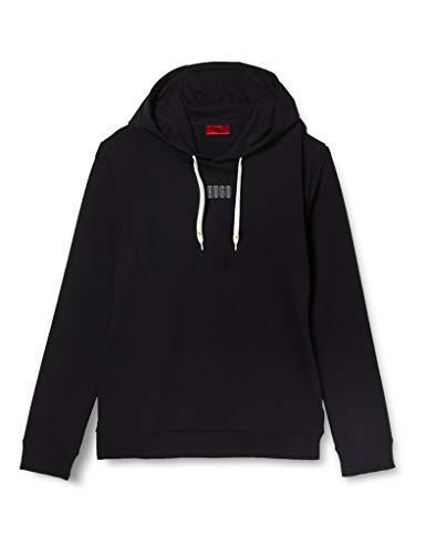 HUGO Mens Dondy203 Hooded Sweatshirt, Black(001), XXL