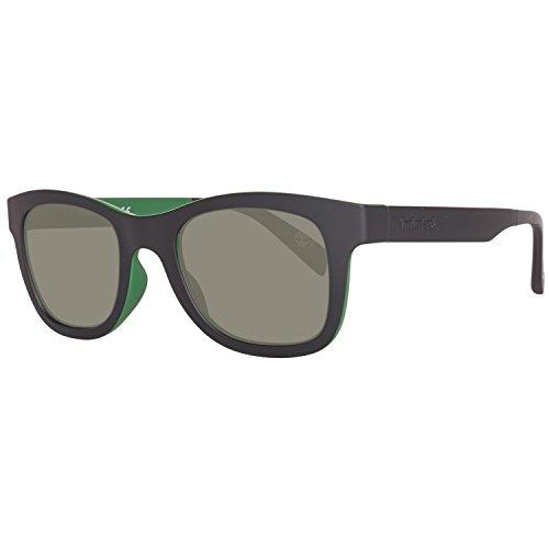 Timberland Sonnenbrille TB9080 5098R Occhiali da Sole, Nero (Schwarz), 50 Uomo