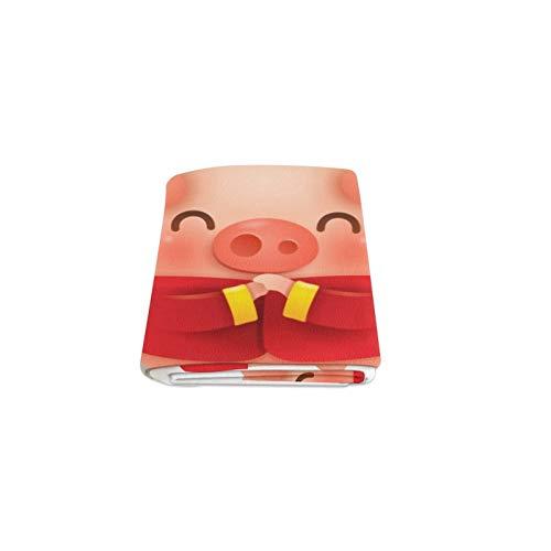 Reopx Chinese New Year Pig Benutzerdefinierte Winter Leicht Komfortable Pelz Fuzzy Super Soft Fleece Couch Sofa Und Bett Decke Für Baby Frauen Größe 40x50 Zoll Maschine Waschbar
