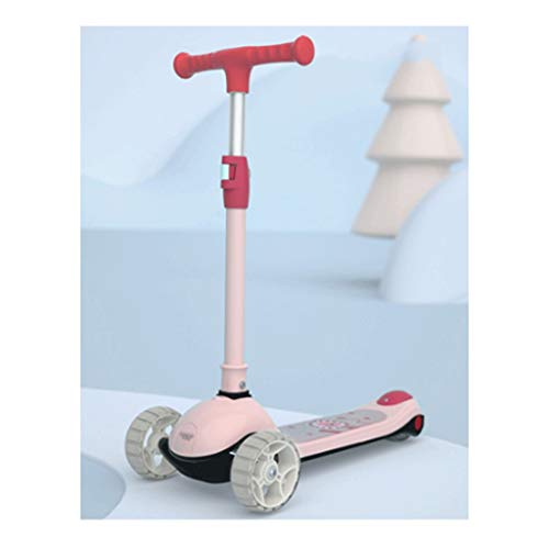 LZL Roller für Kinder Trainings-Balance-Roller mit verstellbarem Höhenroller, mager zu lenkten, erweiterten...