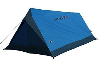 High Peak Minilite Tente canadienne Mixte Adulte, Bleu/Gris foncé, Grand