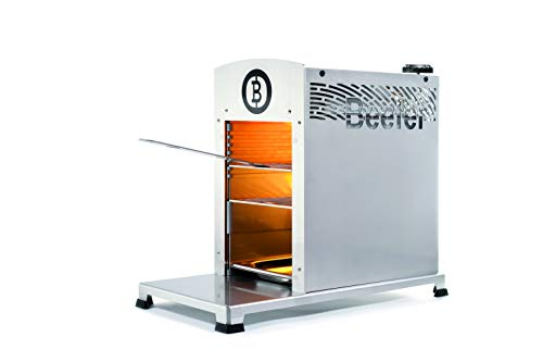 Beefer The 1,500 Degree Grill - 100% Stainless Steel - The Original for Perfect Steaks, Burgers and...