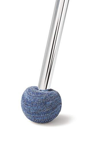 ajile Embout Patin Chausson Anti-bruit en Feutre Renforcé BLEU Cobalt pour Pied de Chaise Diamètre 16 à 22 mm – Sachet de 4 pièces – FSS716x4-FBA
