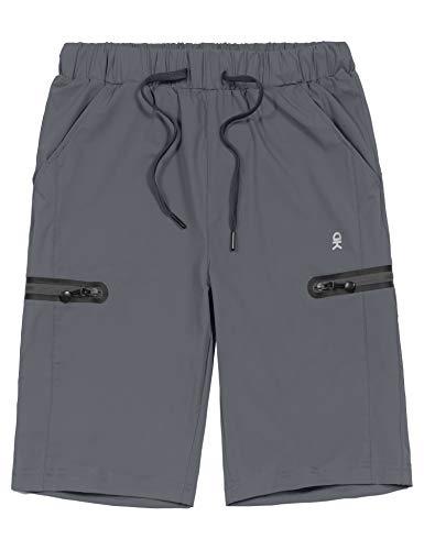 Little Donkey Andy - Bermuda da uomo, ultra elasticizzati, ad asciugatura rapida, leggeri, con coulisse, tasca con cerniera, pantaloncini per escursionismo, viaggi e golf, Uomo, N-5923 C, Medium
