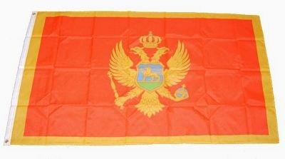 Fahne / Flagge Montenegro NEU 90 x 150 cm Flaggen