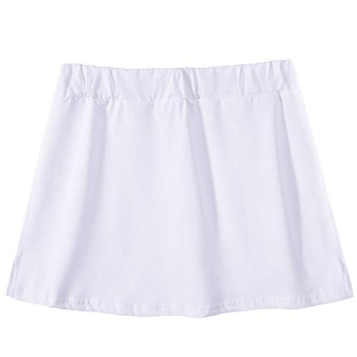 Lenfeshing Parte Superior Falsa Ajustable con Capas Inferiores Ajustable Extensores de Camisa de Minifalda para Mujeres Y Chica