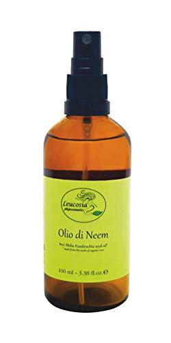 Olio di Neem - 100% Puro e Biologico. Spremuto a freddo. Ideale per pelli secche e capelli sfibrati.