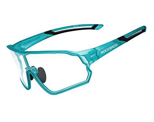 ROCKBROS Gafas de Sol Fotocromáticas Protección UV400 Cicl