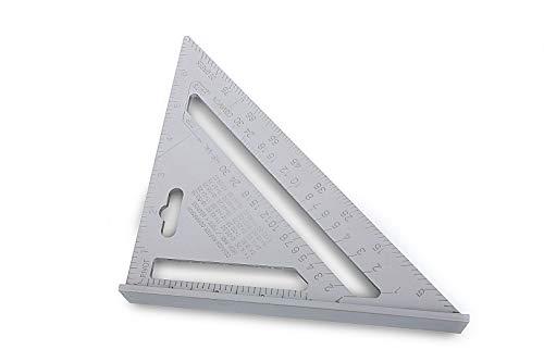 Silverline para trabajo pesado de aluminio techadores Medida Triángulo