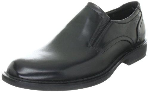 Big Sale ECCO Men's Biarritz Slip-On Dress Shoe,Black,45 EU/11-11.5 M US