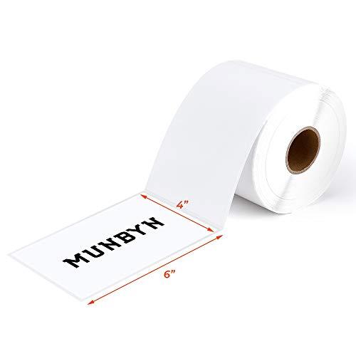 【500 Etiketten】4x6 Direkte Thermische Roll Thermo Versandetikett für Postanschriften USPS UPS FedEx Amazon Ebay-Versandetiketten, handelsüblich