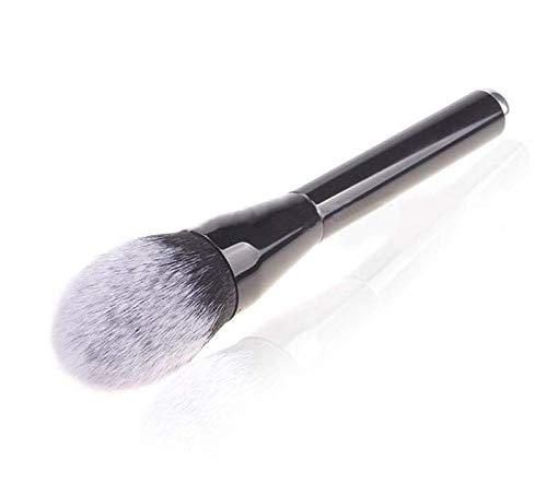 Single Flame Type Blush Brush Large Metal Handle Foundation Brush