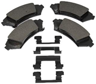 ACDelco 171-654 GM Original Equipment Front Disc Brake Pad Kit with Brake Pads and Clips