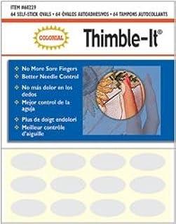 Colonial Needle 82375 Thimble-It Finger Pads-64-Pkg