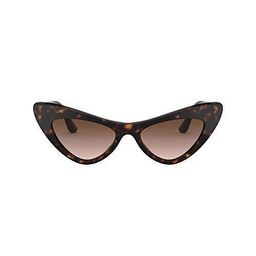 Dolce & Gabbana 0DG4368 Occhiali, Havana, 52 Donna
