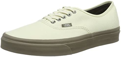Vans Unisex Authentic Sneaker Cream/Walnut Size