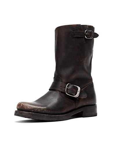 FRYE Women's Veronica Short Boot, Black, 8.5
