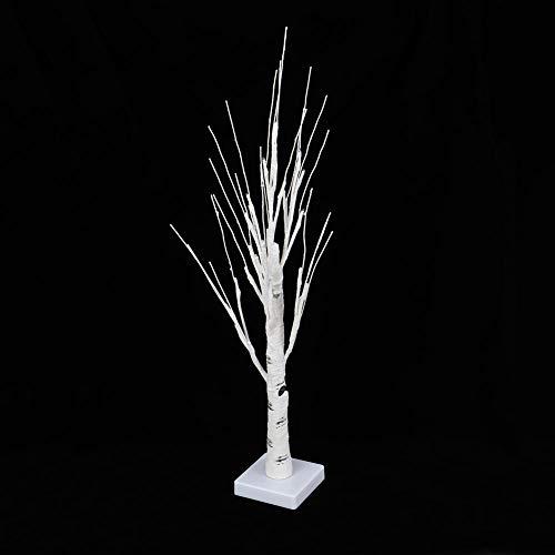 Zopsc-1 Christmas Mini Warm White 24 LED Tree Light, Bonsai Tree Light, para Uso en Interiores Dormitorio