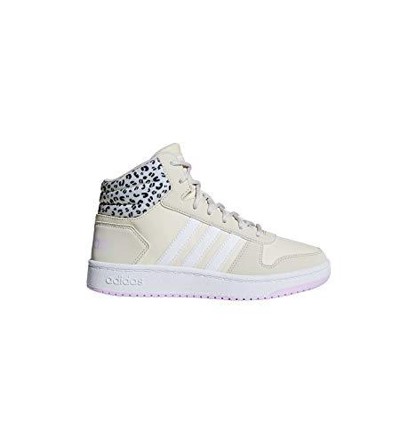 adidas Hoops Mid 2.0 K, Scarpe da Basket Unisex – Adulto