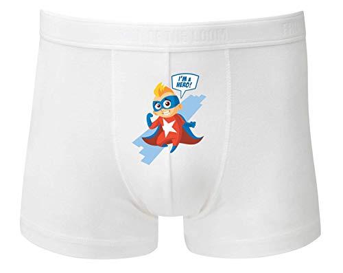 Boxershort - Im A Hero Superheld - Unterhose für Herren und Männer