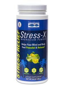 Trace Minerals Research - Stress-X Magnesium Lemon-Lime 8.8 oz