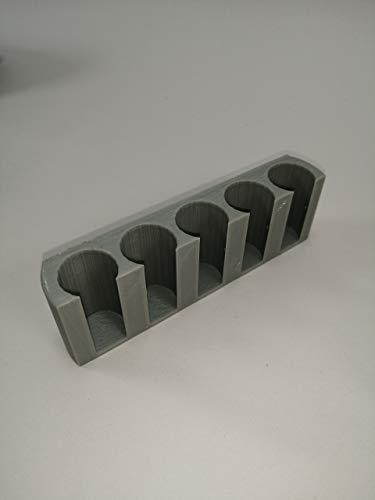 Insulin Pen Houder voor de Koelkast : Plak op: Grijs (geschikt voor pennen tot 19mm diameter)