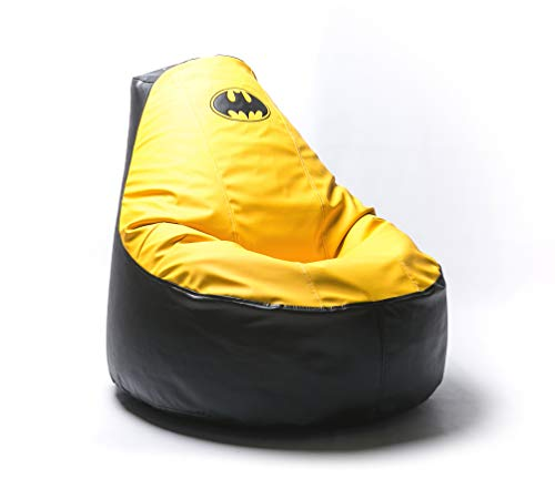 Superhero Comics Comfortable Kids Adult Game Outdoor Indoor Lounge Chair Beanbag Cover (Without Beans) (Batman)