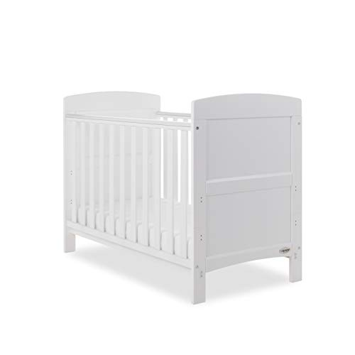 Obaby Grace Mini Cot Bed, White