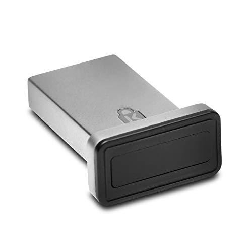 Kensington Fingerabdruckscanner VeriMark IT, USB-Fingerabdruckleser- und scanner für Windows 10 Hallo, Biometrischer Sicherheitsscanner für Unternehmen, K64704EU