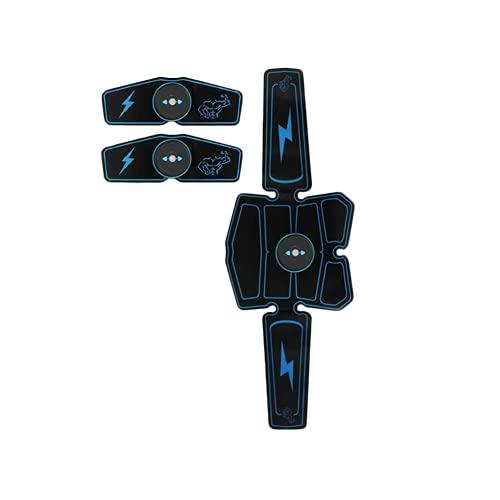 Shapewear Electroestimulador Muscular Abdominales,Estimulador Muscular Abdominales Cinturón, Estimulador Muscular para Bdomen/Brazo/Piernas/Glúteos 6 Modos de Simulación