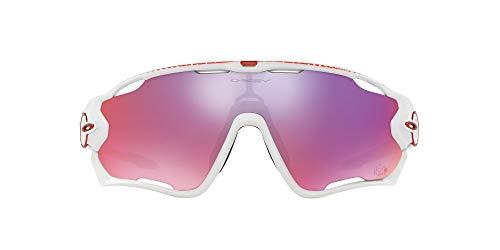 Oakley Jawbreaker 929018, Gafas de Sol para Hombre, Polished White, 1