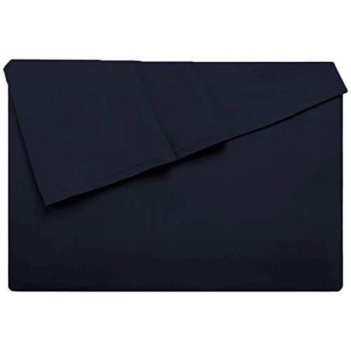 LiveComfort Flat Sheet, Queen Size Extra Zacht Geborsteld Microvezel Plat, Machine Wasbaar Rimpelvrij Ademend