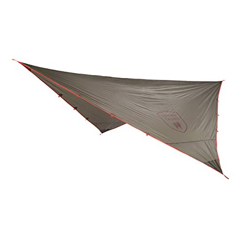 Grand Trunk Abrigo Rain Fly and Shelter  Large Lightweight AllWeather Hammock Shelter and Protective Cover  Capable to Handle All Environments