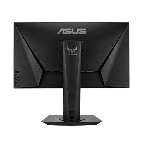 ASUS TUF Gaming VG259QR 62,2 cm (24,5 Zoll) Monitor (Full HD, 165Hz, G-Sync Compatible ready, HDMI, DisplayPort, 1ms Reaktionszeit) schwarz