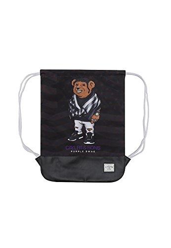 Saco Sport (Gymsack) Cayler & Sons C&S WL Purple Swag Negro Sin Talla