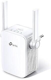 TP-Link - Repetidor WiFi AC1200, 5 GHz & 2.4 Ghz, Amplificador WiFi Extensor, con Puerto Ethernet, Repetidor Inalámbrico, ...