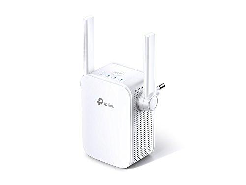 TP-Link - Repetidor WiFi AC1200, 5 GHz & 2.4 Ghz, Amplificador WiFi Extensor, WBS Botón, Megabit Puerto Ethernet, Fácil de Configurar, Blanco