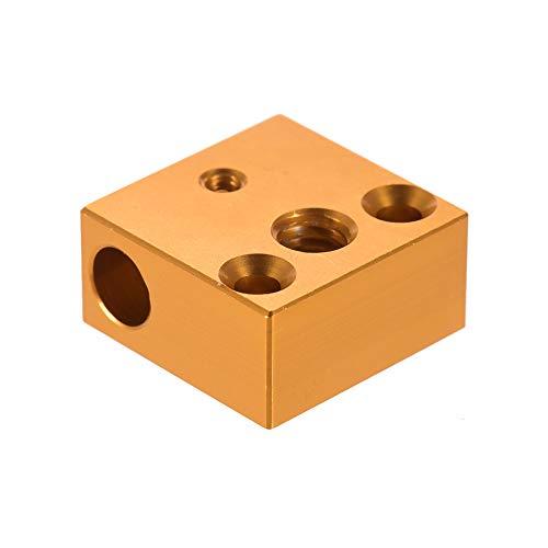 Drucker Heizblock 20 * 20 * 10mm für 3 3D Drucker Extruderdüse Hotend Kit