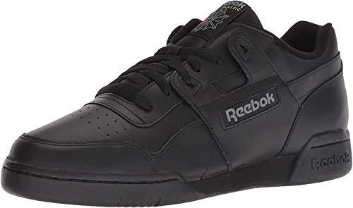 Reebok Workout Plus, Zapatillas de Deporte para Hombre, Negro (black / charcoal), 44 EU (9.5 UK)