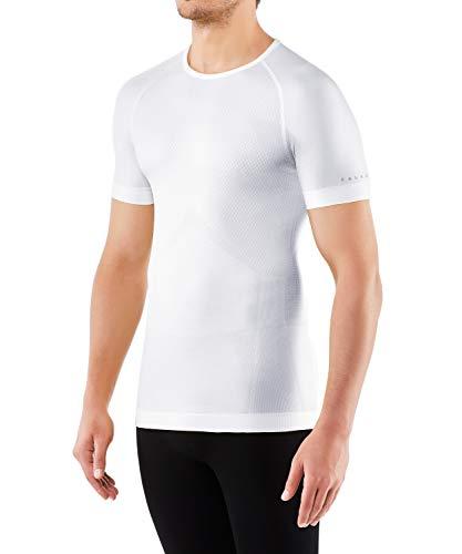 FALKE Herren Kurzarmshirt Cool, Shirt Kurzarm aus Funktionsfaser - atmungsaktiv, 1 er Pack, weiß (White 2860), Größe: XL