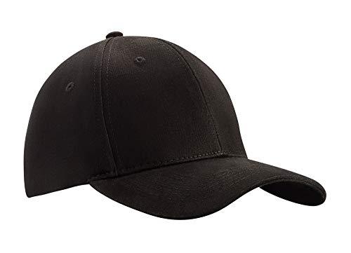 MFAZ Morefaz Ltd Herren Baseball Mütze Cap Verstellbarer Riemen Snap Back Hut Sport Frauen Hüte LA (Black)