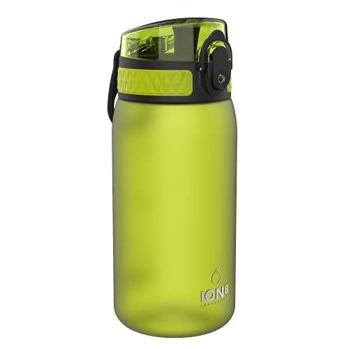 Ion8 Auslaufsichere Kinder Trinkflasche, BPA-frei, Grün