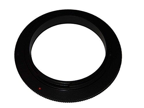 vhbw Retro-Adapter Umkehr-Ring Makroadapter 52mm passend für Pentax K-500, K-50, K-30, K-5, K-7, K-m, K-x, K-r, K-01, K200D, K20D, K110D, K100D, K10D