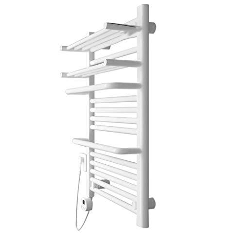 DGHJK Handtuchwärmer, 400 W / 76 * 50 * 20 cm/Haushalt Badezimmer Sicheres Timing Schnelles Trocknen Antibakterielles elektrisches Handtuchgestell Trockengestell