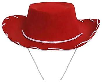 Children's Cowboy/Cowgirl Red Hat Costume Jessie Style