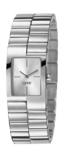 ES106082002 Esprit Damen-Armbanduhr Alyce Quarz analog Stahl Silber