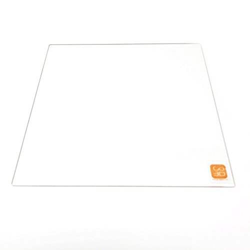 140mm x 140mm Borosilicaat Glas Plaat/Bed w/Flat Gepolijst Rand voor Afinia en UP! 3D Printer